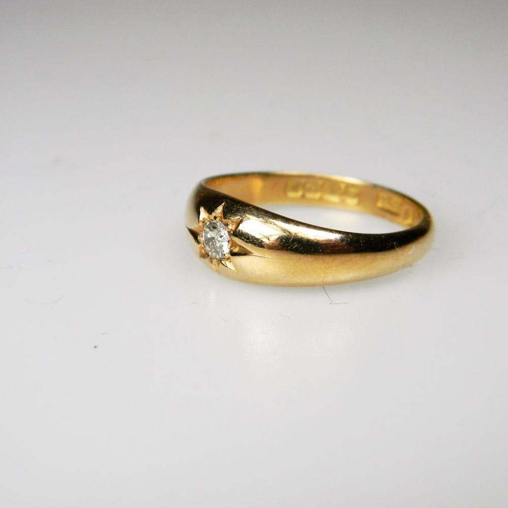 Gypsy Set Diamond Ring Db Gems